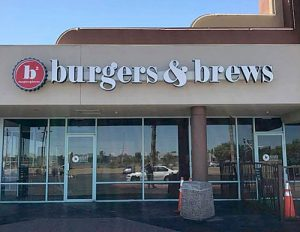 B2 Burgers and Brews
