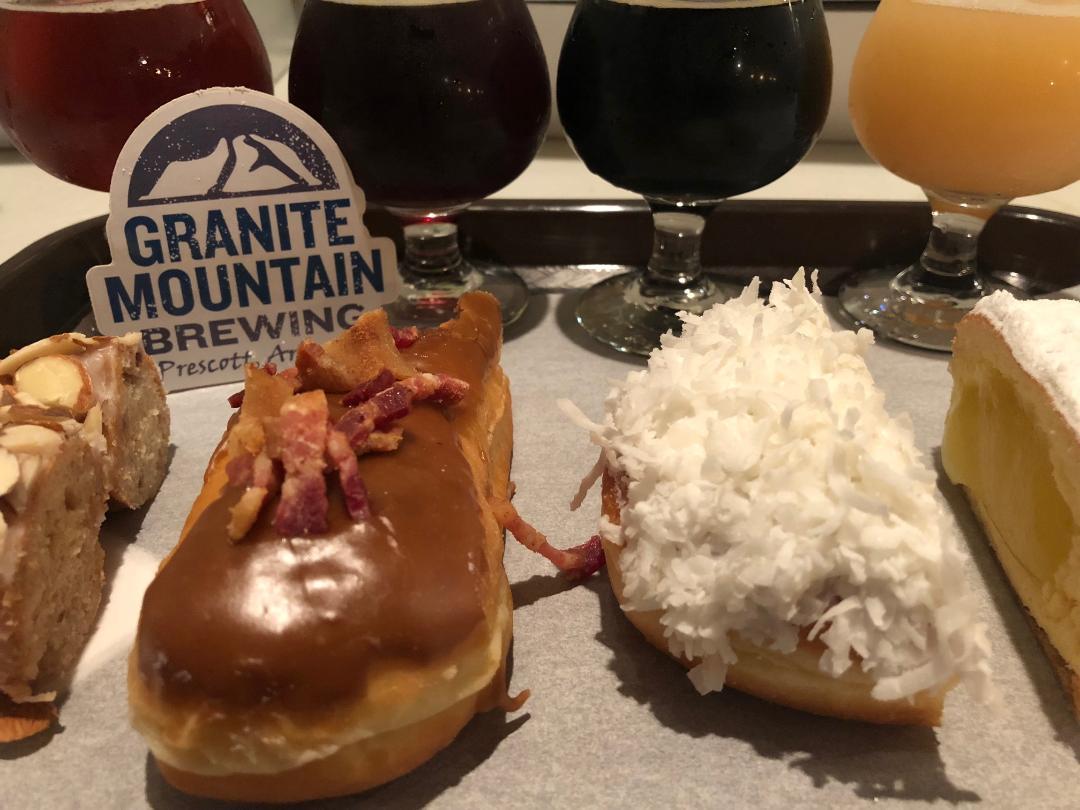 Beer + Donut Pairing @ Granite Mountain Brewing