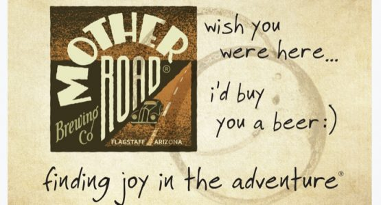 'Wish You Were Here, I'd Buy You A Beer' Postcard Writing Event