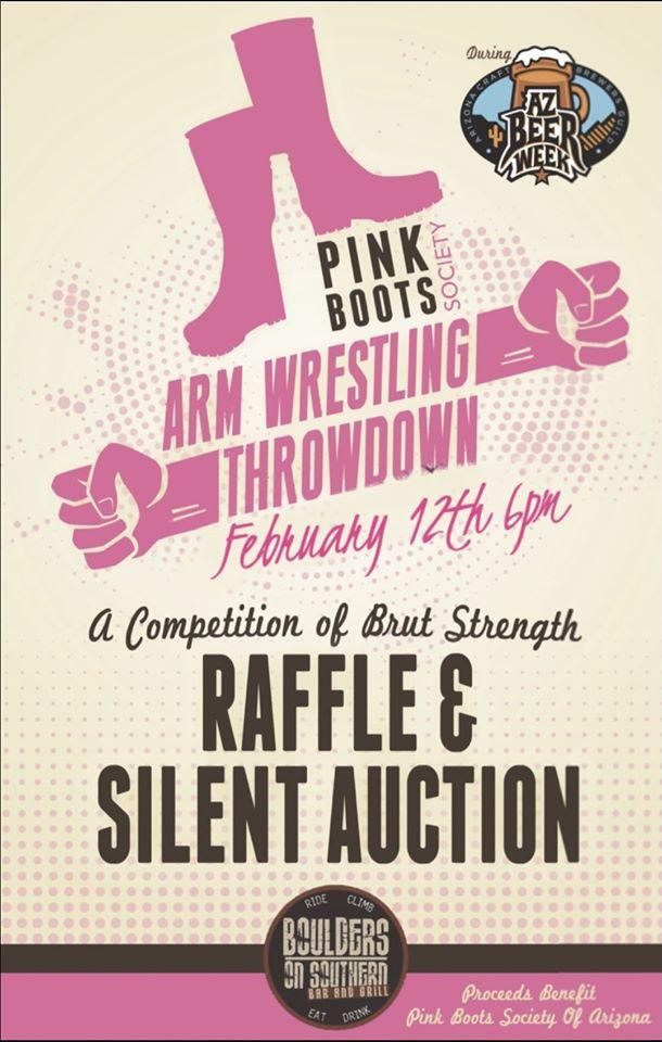 2nd Annual Pink Boots Throwdown