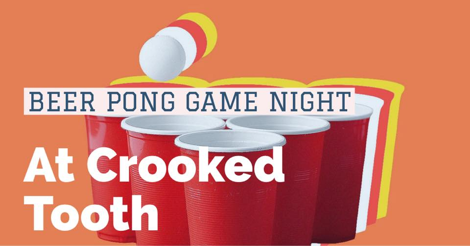 Game Night: Beer Pong!