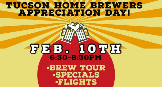 Tucson Home Brewers Appreciation Day!