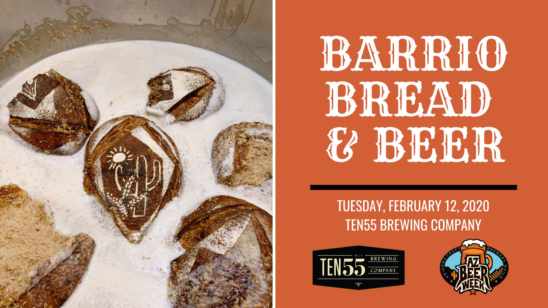 Ten55 Arizona Beer Week: Barrio Bread & Beer