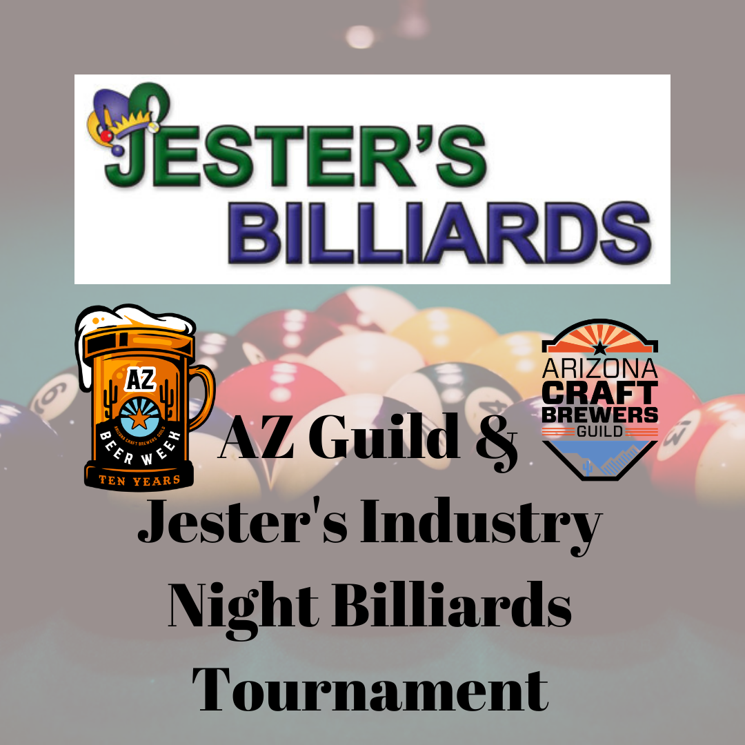 AZ Guild & Jester's Industry Night Billiards Tournament