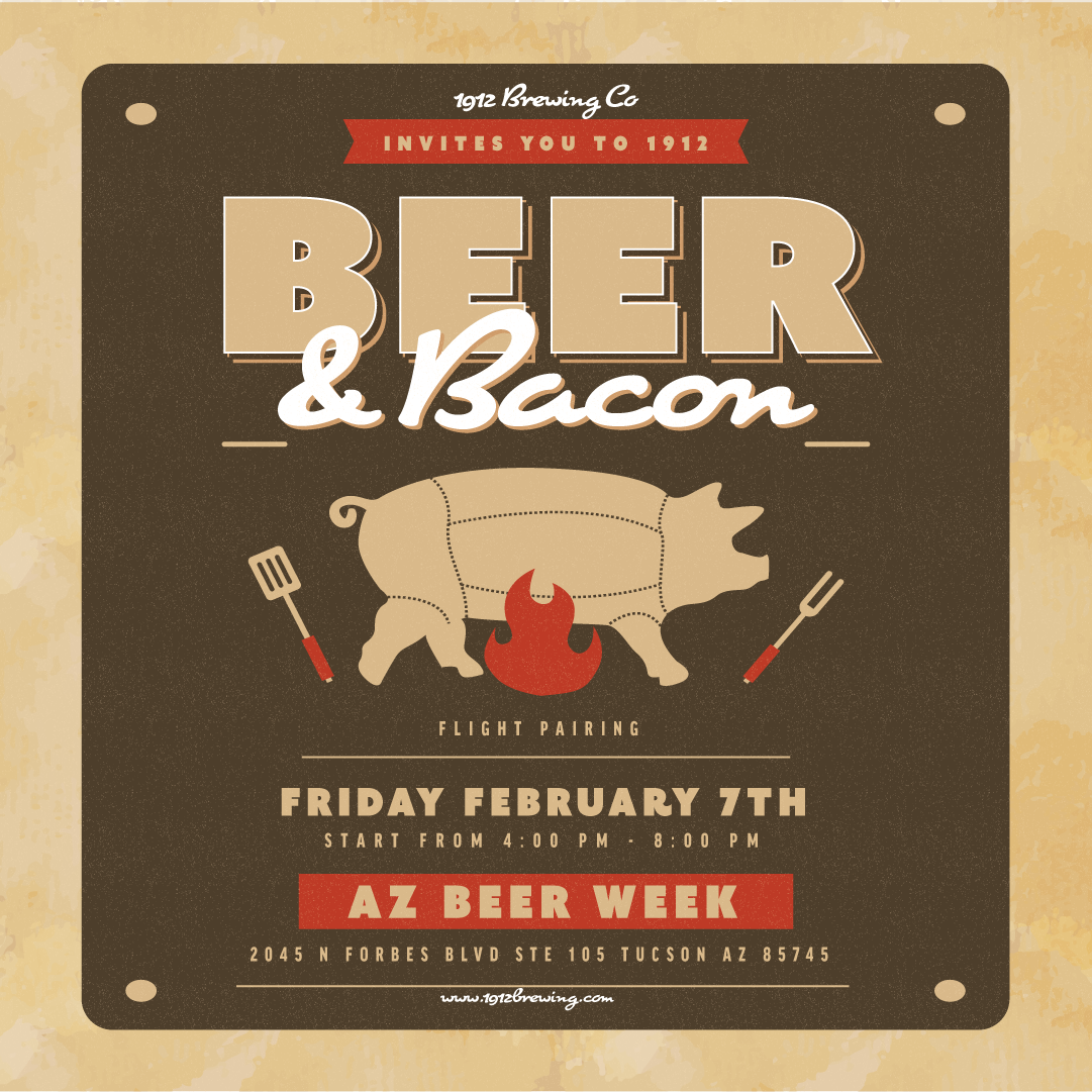 1912 Beer and Bacon Pairing
