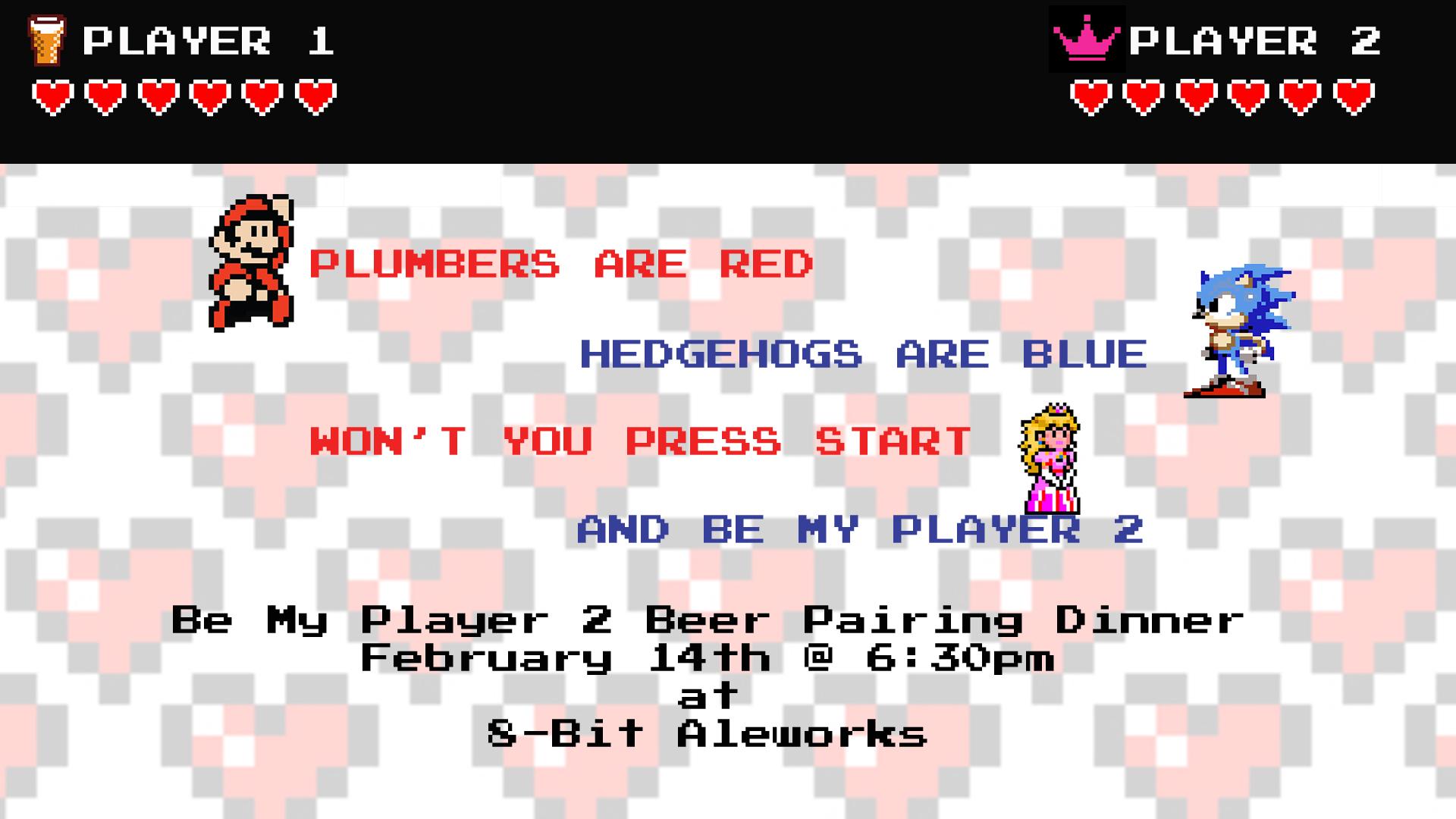 Be My Player 2 Beer Pairing Dinner