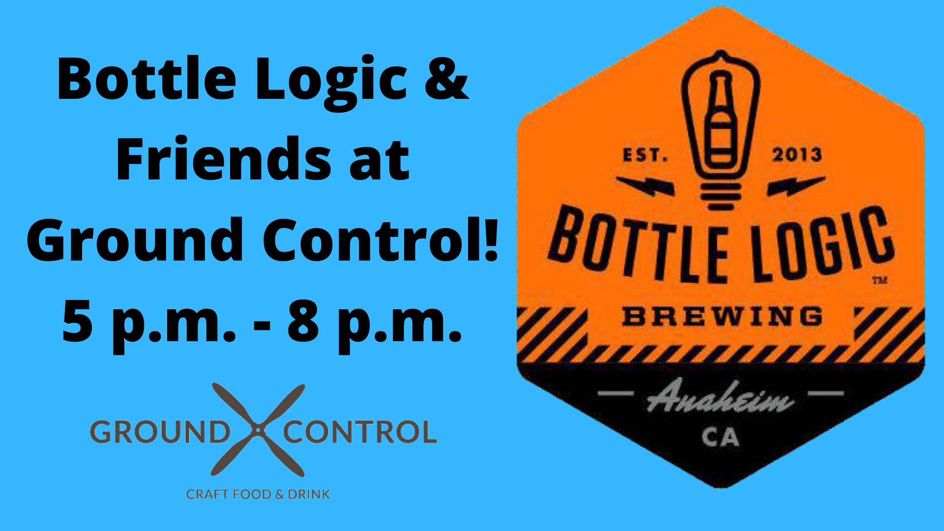 BOTTLE LOGIC AND FRIENDS!