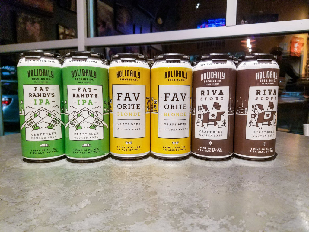 Gluten-free Beer Launch Event at Illegal Pete's