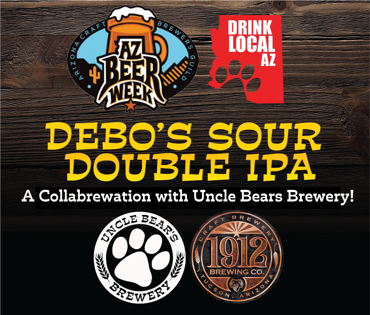 1912 Brewing x Uncle Bears Brewery Collab Release