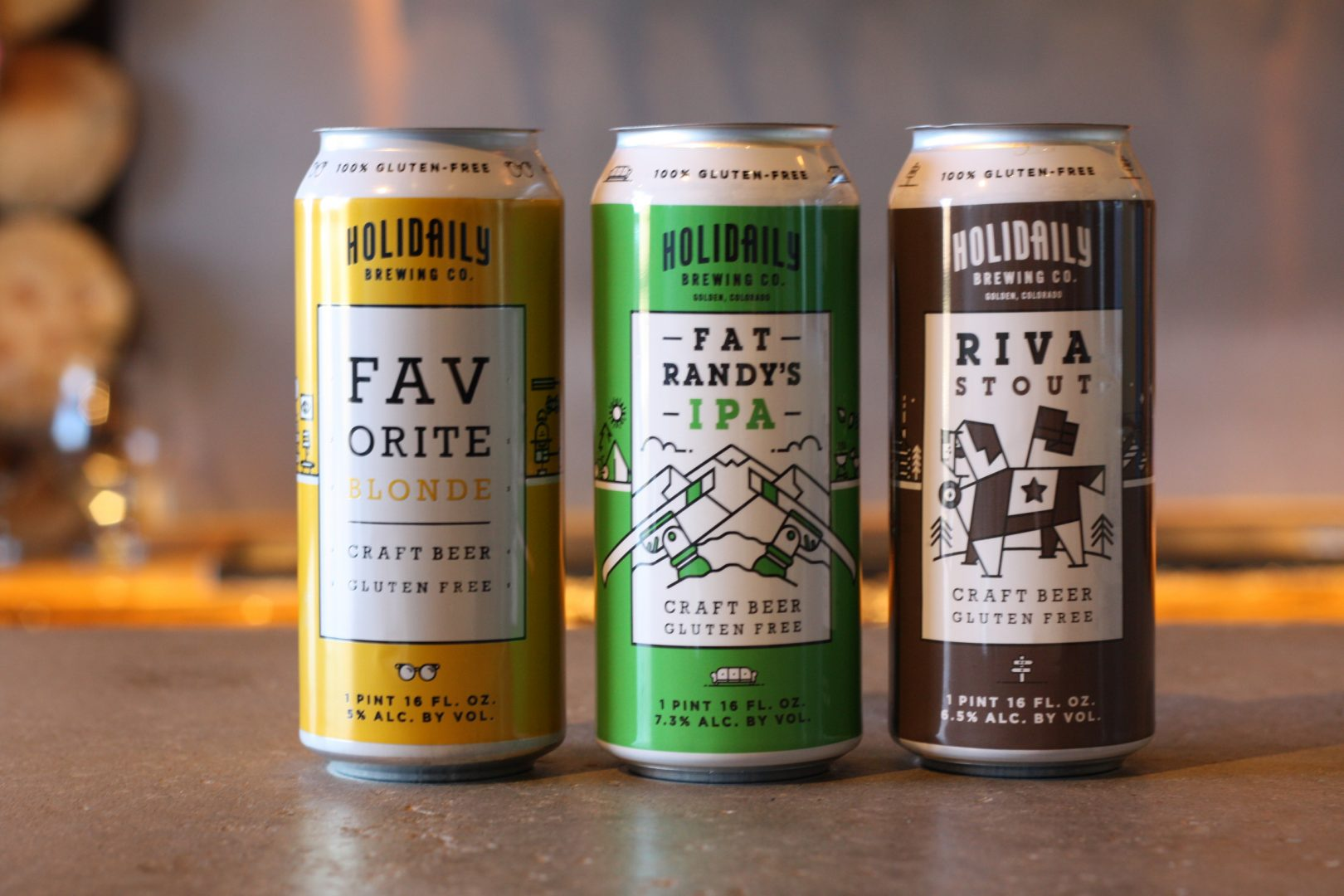 Gluten-free Beer Sampling at Hillside Spot