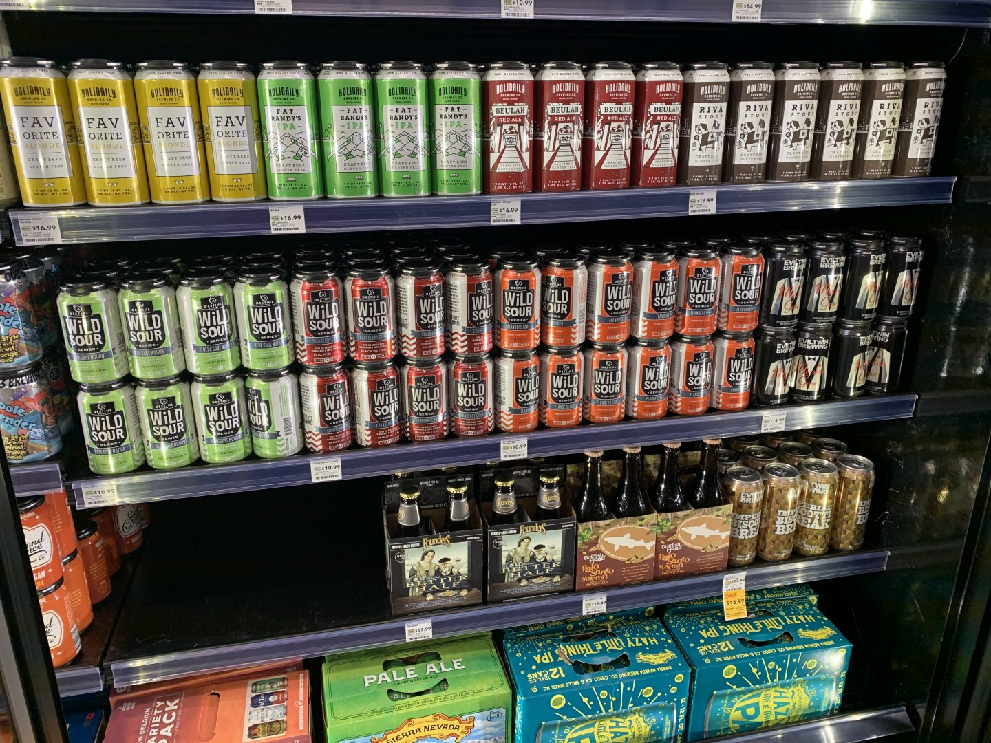 Whole Foods Gluten-free Beer Tasting