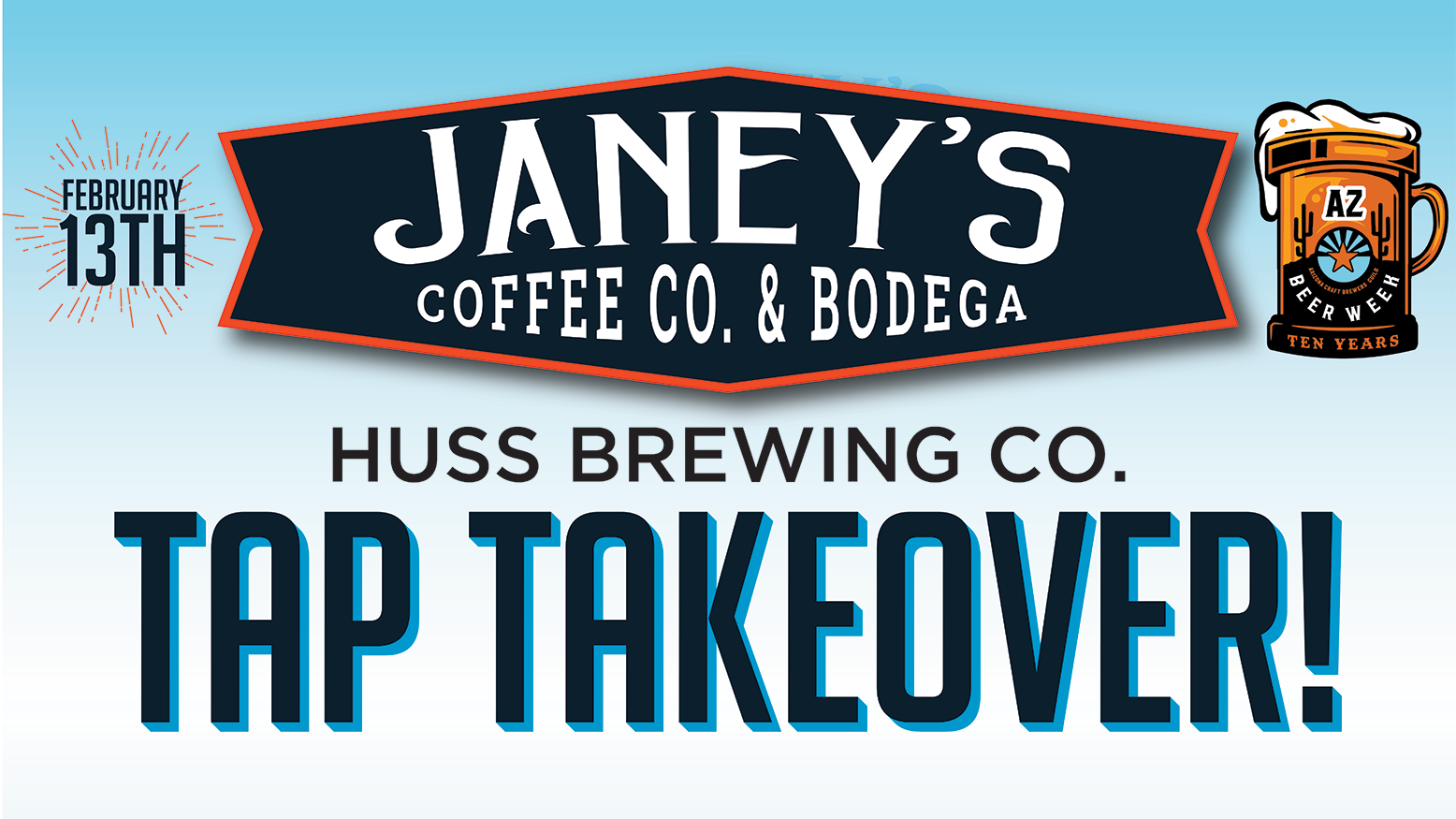 Cave Creek Tap Takeover @ Janey's