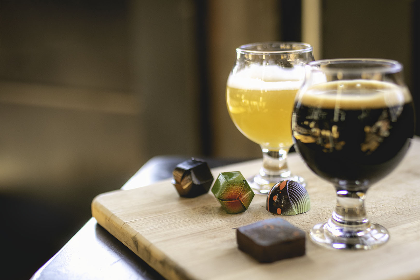 Valentine's Day Beer & Bonbon Pairing With Monsoon Chocolate