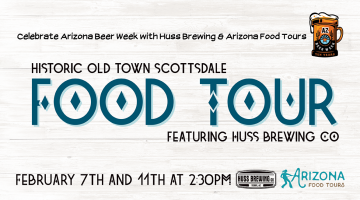 Food Tour feat. Huss Brewing