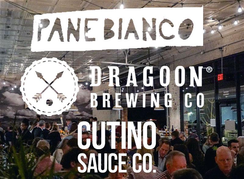 Dragoon Pop-Up at Pane Bianco Van Buren with Cutino Sauce Co.