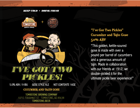1912 Brewing x Tombstone Brewery Collab Takeover