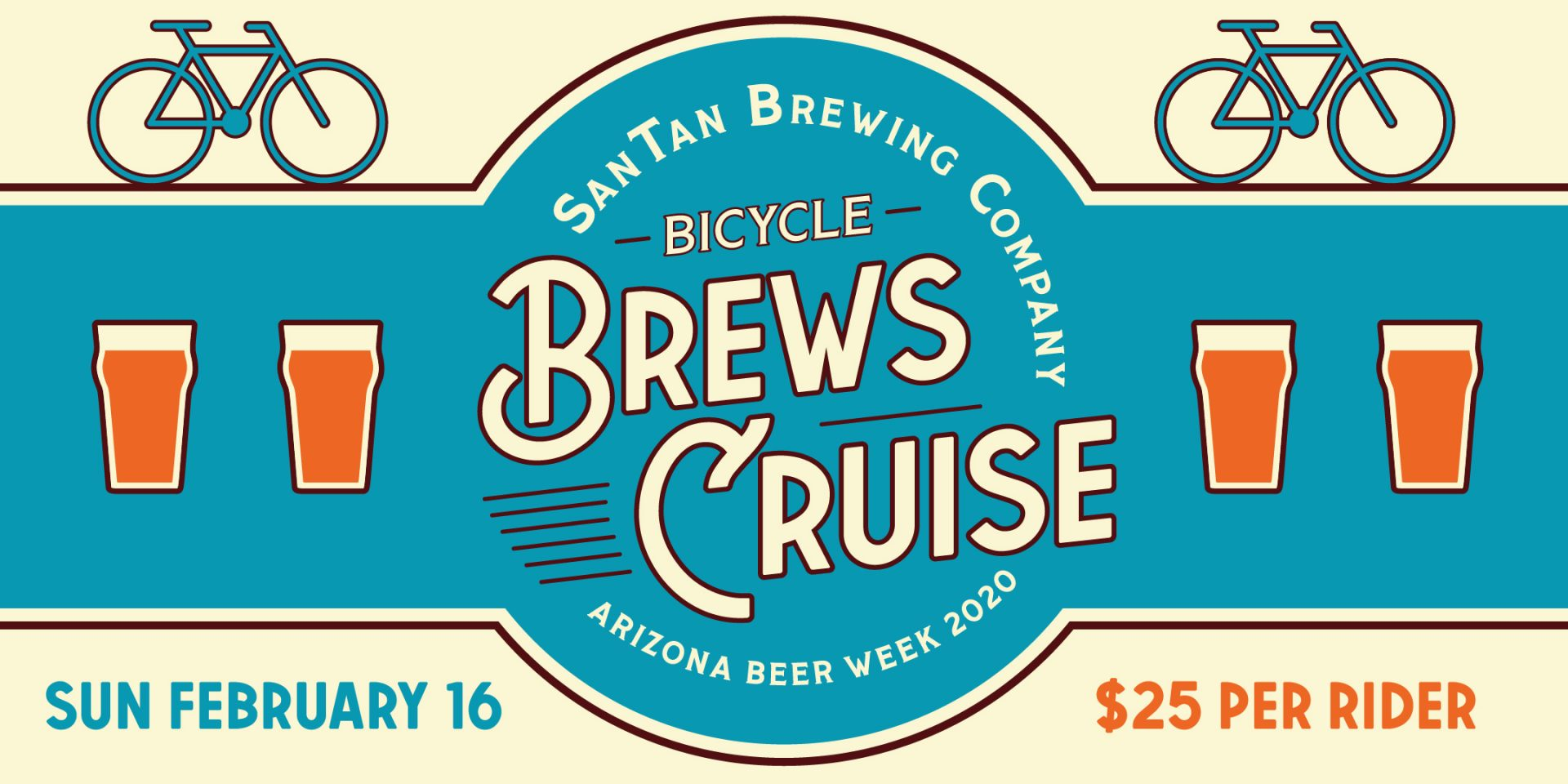 Bicycle Brews Cruise – SanTan Brewing Company