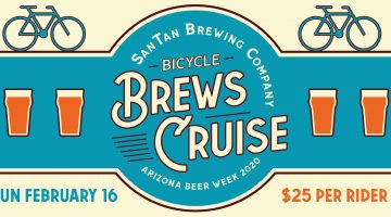 Bicycle Brews Cruise - SanTan Brewing Company