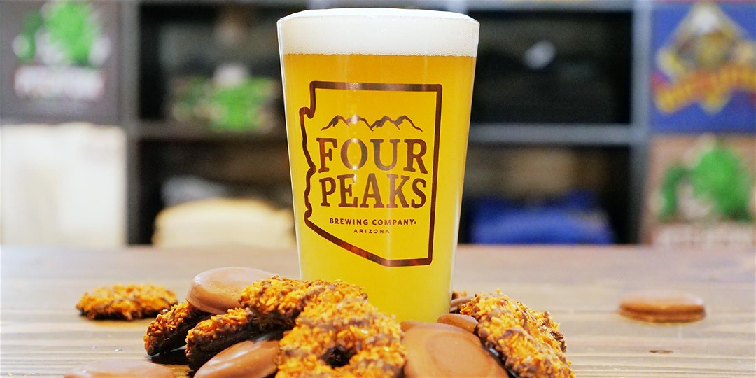 Girl Scout Cookie & Beer Pairing – Four Peaks Wilson Party Palace