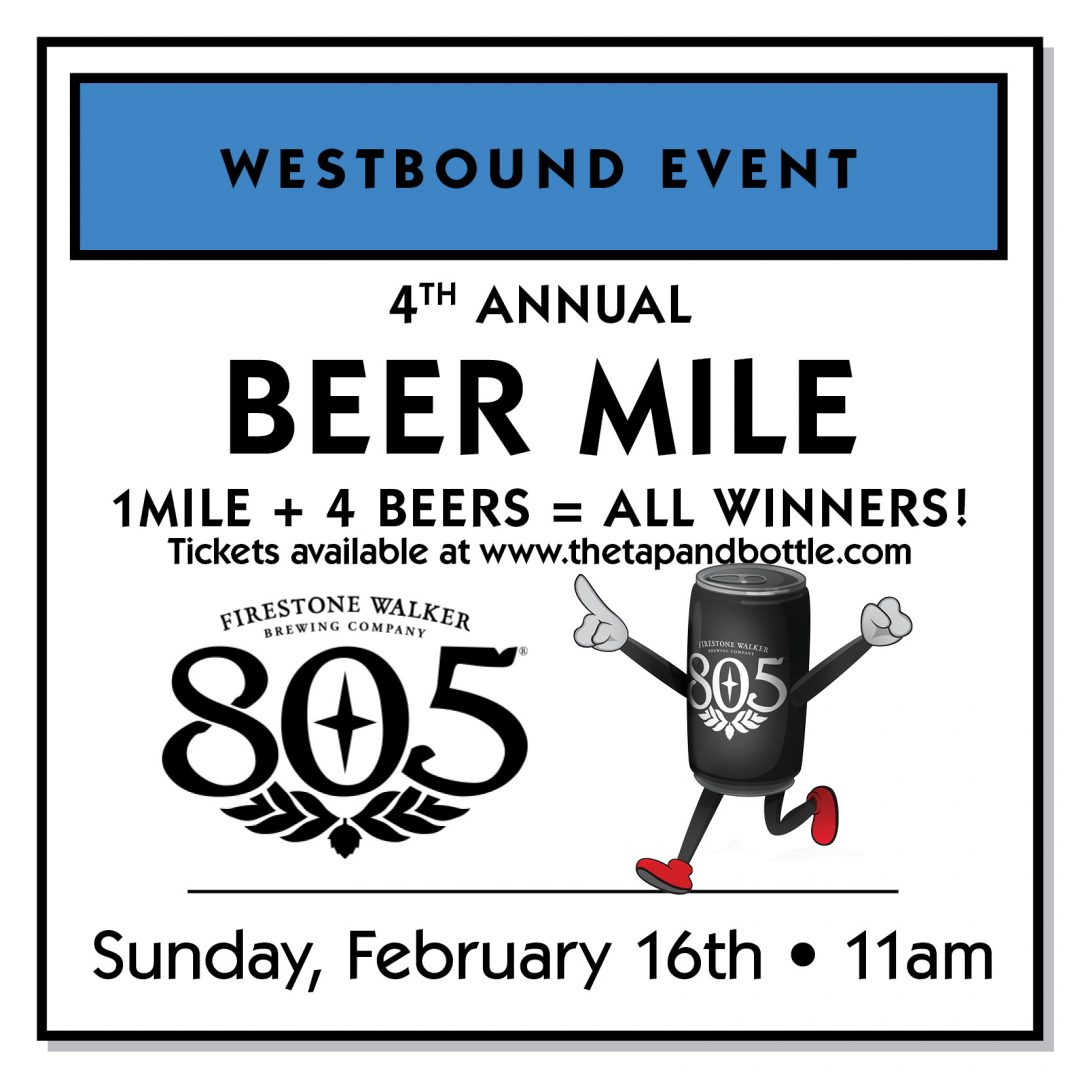 4th Annual BEER MILE at Westbound!