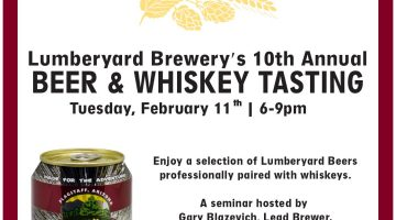 10th Annual Beer & Whiskey Pairing