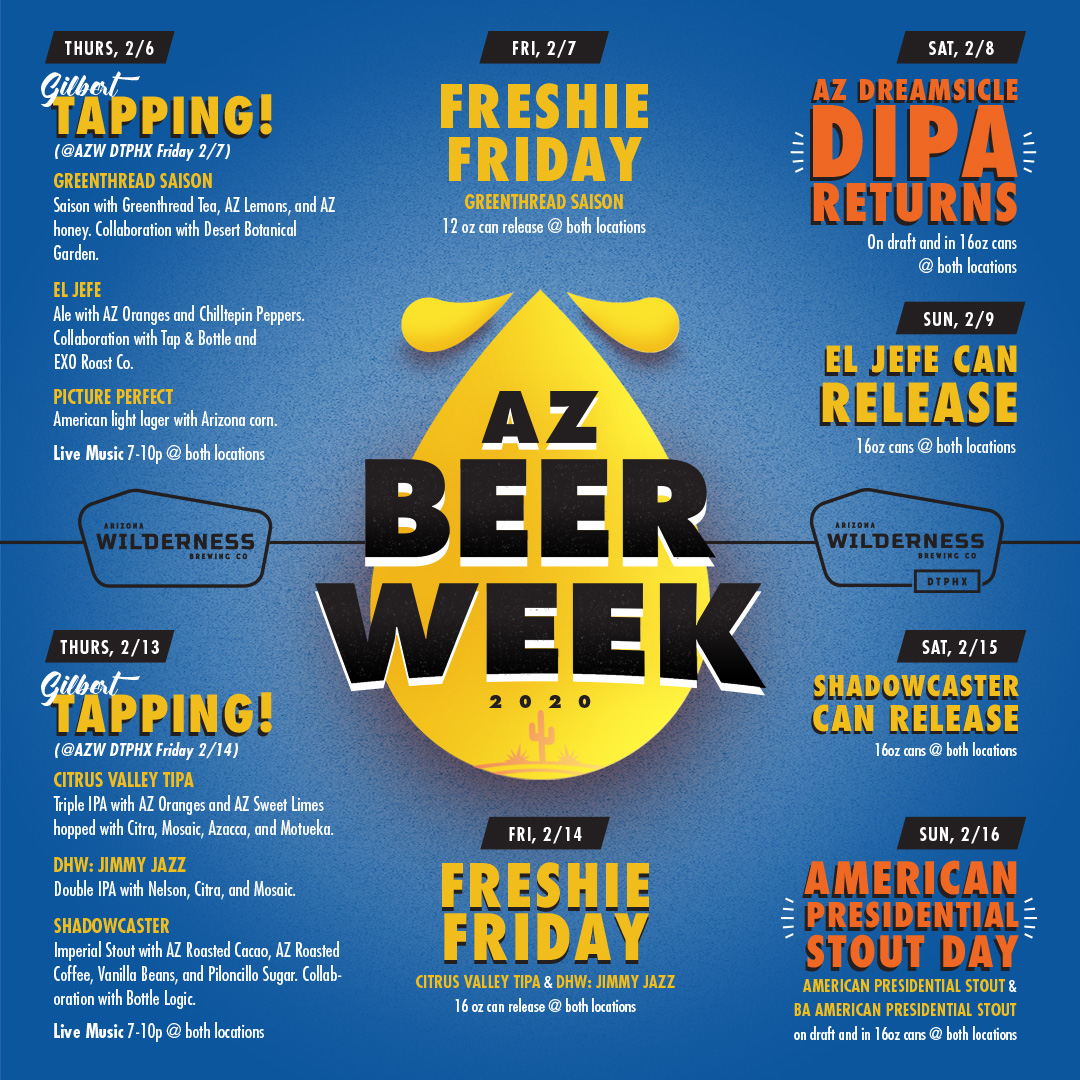 Arizona Beer Week @ AZ Wilderness!