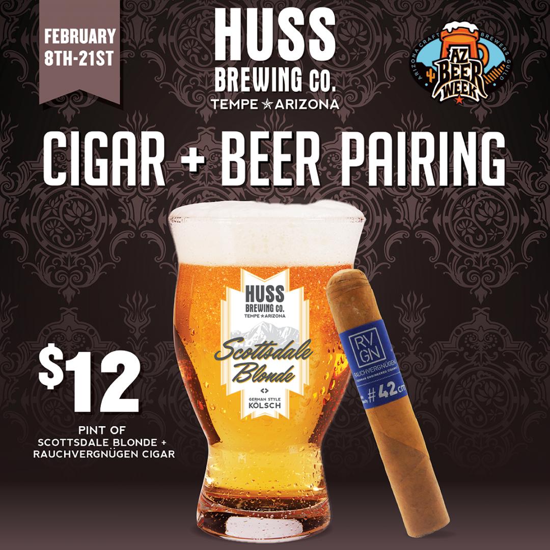 Cigar and Beer Pairing @ Cedar Room