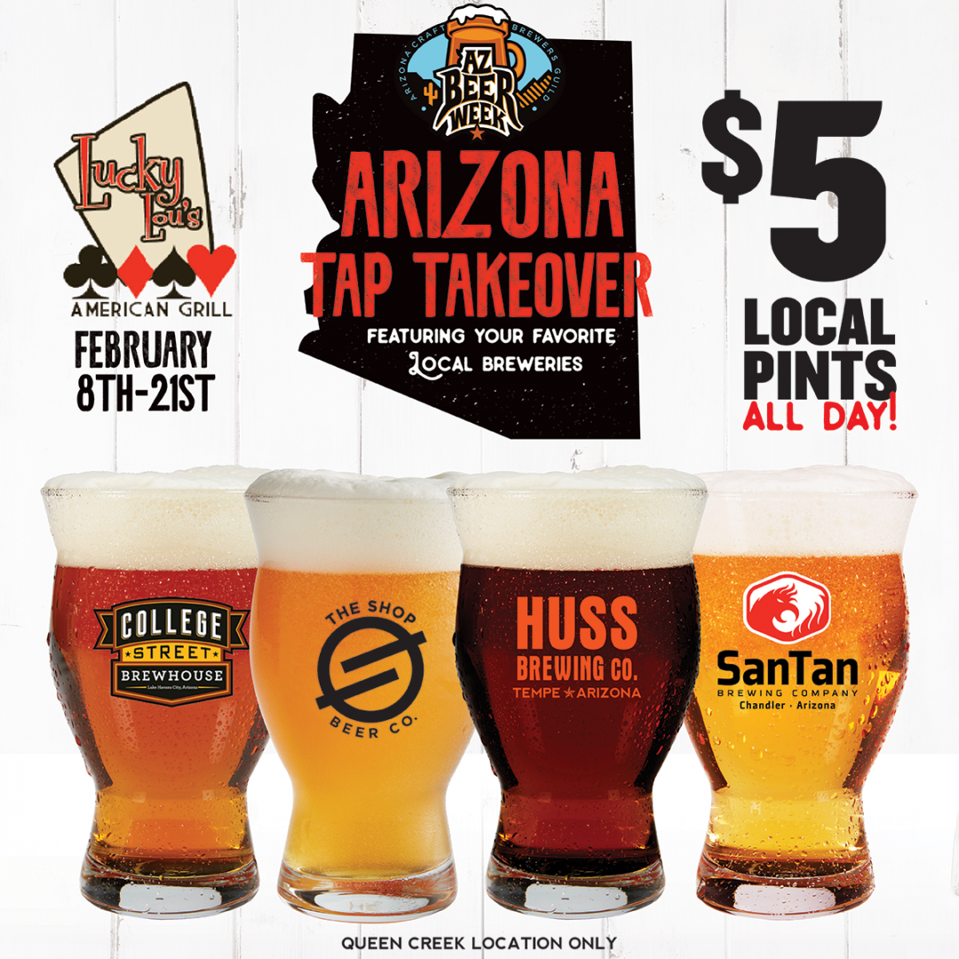 Drink Local at Lucky Lou's – Queen Creek