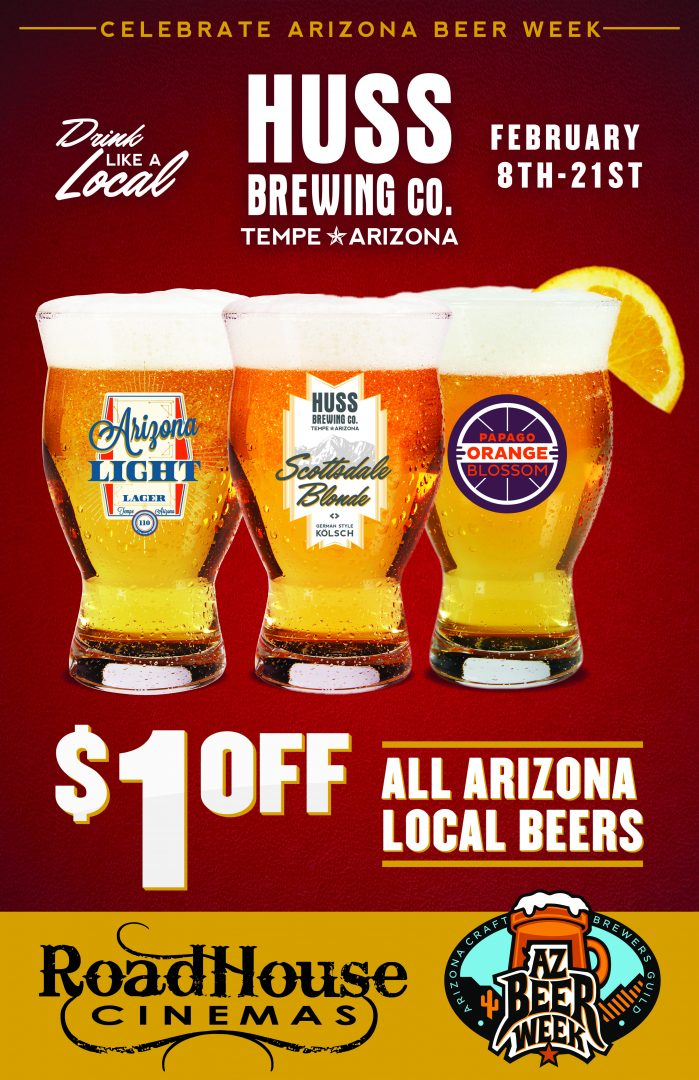 Roadhouse Cinemas featuring Local Brews