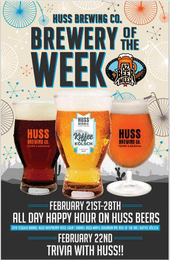 Spokes on Southern Brewery of the Week – HUSS Brewing
